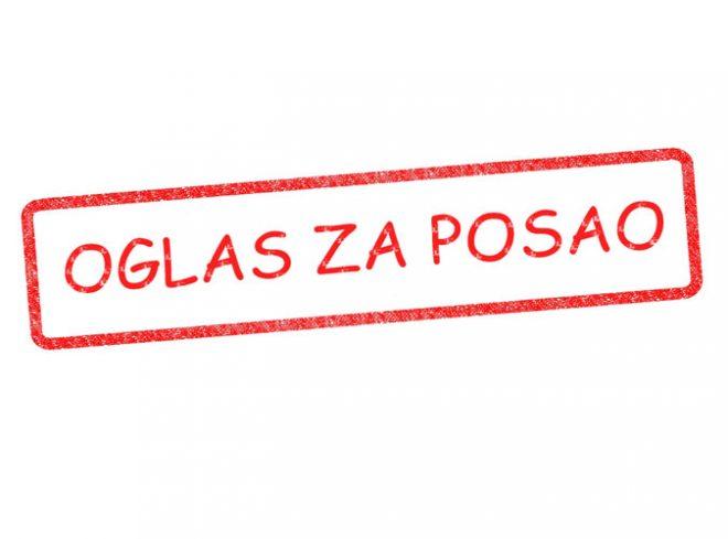 Javni oglas za prijem u radni odnos – 04. decembar 2020.